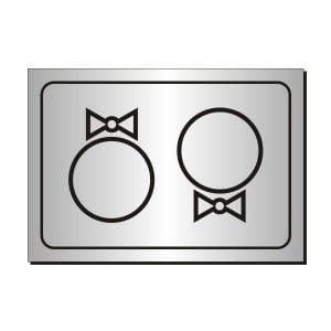 Placuta gravata toaleta 17